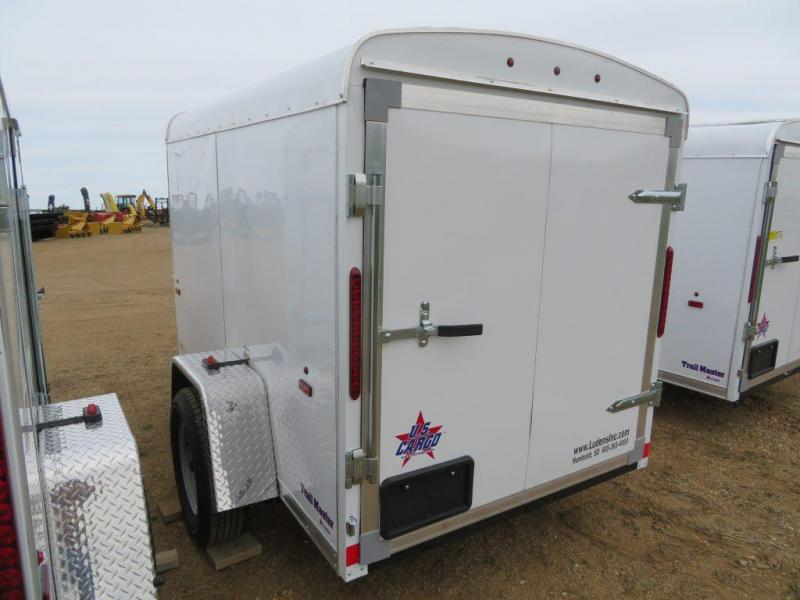 2019 US Cargo  5 x 8 Enclosed Cargo Trailer
