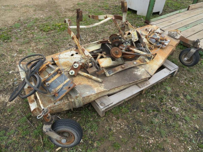 Used 60 Belly Mower Deck