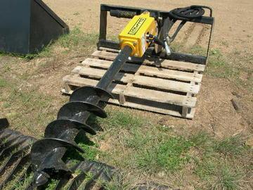 New Belltec NC-300 Skid Steer Post Hole Auger