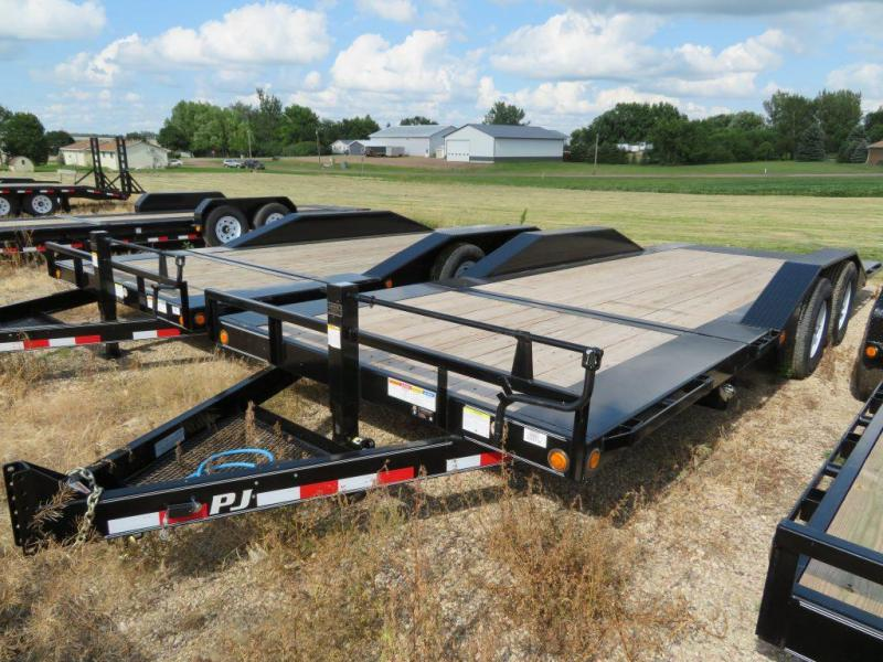 2019 PJ Trailers 22 HD Superwide Tiltbed Equipment Trailer