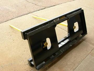 New MDS Skid Steer Double Tine Bale Spear
