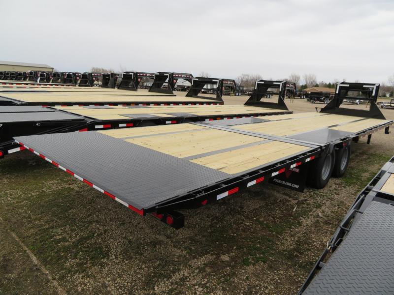 2019 PJ Trailers 32 Low Profile Hydraulic Tail GN