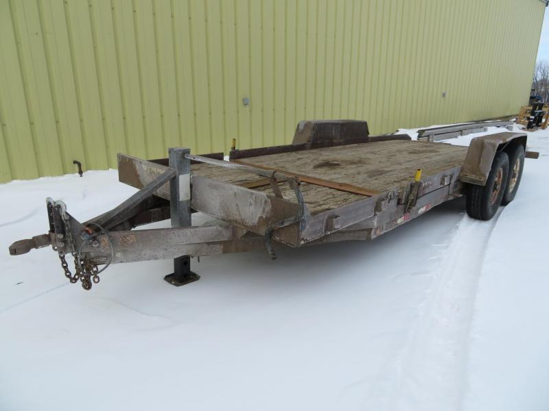 Used DCT 20 Tiltbed Equipment Trailer