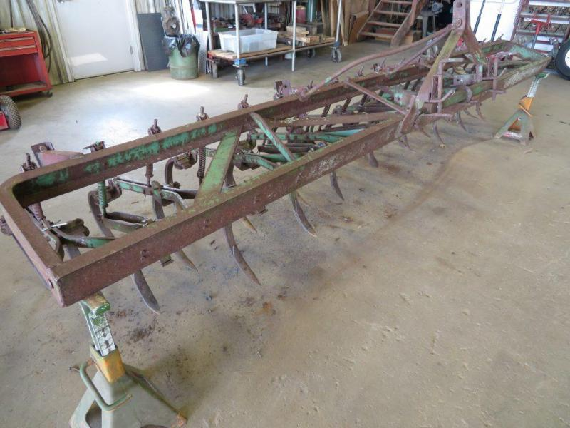 Used John Deere 14' Field Cultivator - 3 Point