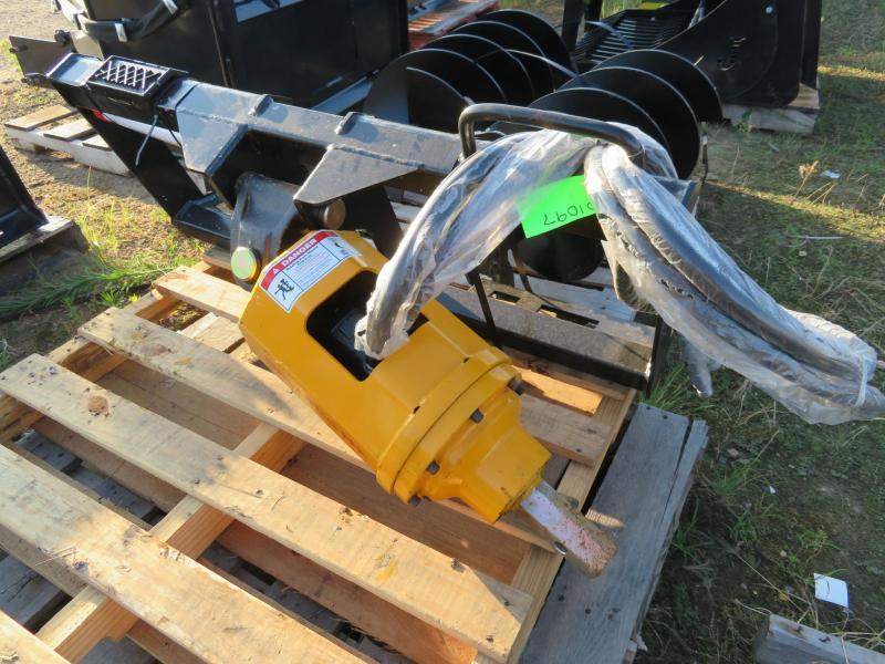 New Belltec LC-300 Skid Steer Post Auger