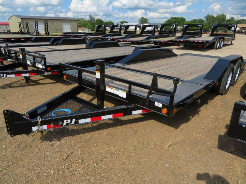 2019 PJ Trailers 20 HD Superwide Tiltbed Equipment Trailer