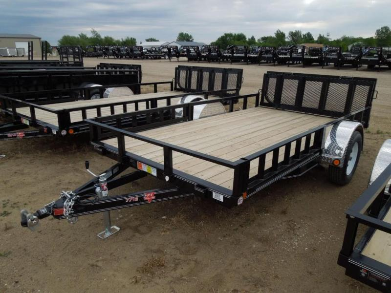 New 2019 PJ Trailers 12 ATV Utility Trailer