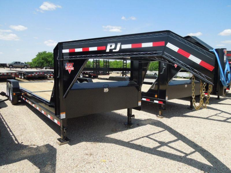 2019 PJ Trailers 24 Tiltbed GN Equipment Trailer