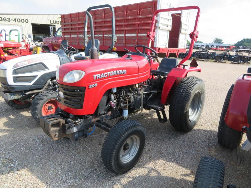 Used Tractor King 200 Compact Utility Tractor