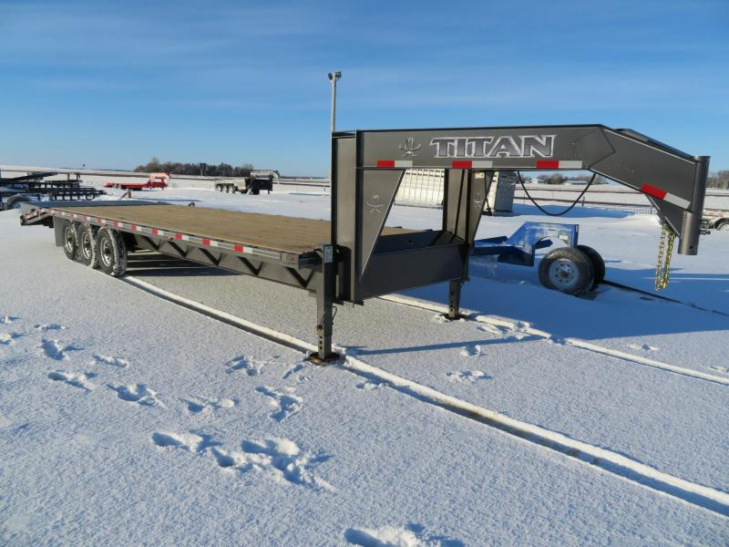 2019 Titan Trailers 30 Equipment Trailer