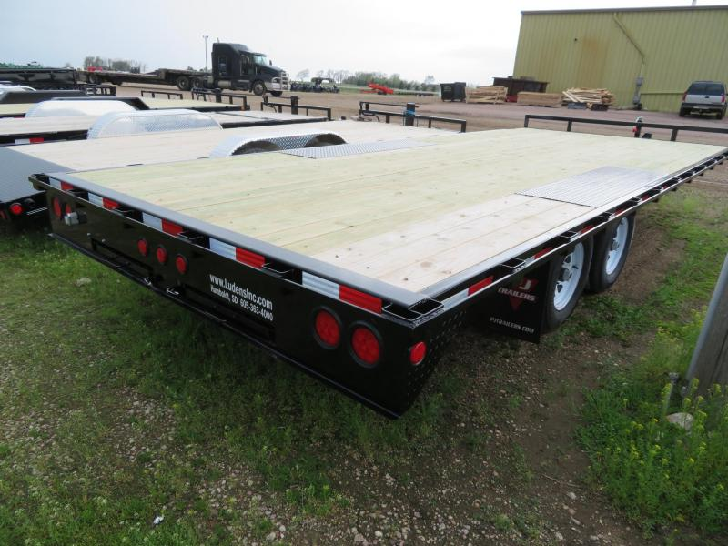 2020 PJ Trailers 20 Medium Duty Deckover Trailer