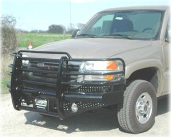 GMC 2005 -  New Ranch Hand Legend Front Bumper Replacement