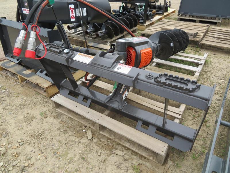 New MDS Pengo C2 Skid Steer Post Auger
