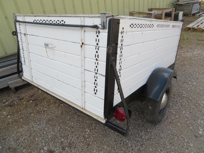 Homemade 4 x 6 Enclosed Cargo Trailer