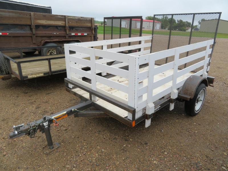 1996 DCT 8 Utility Trailer