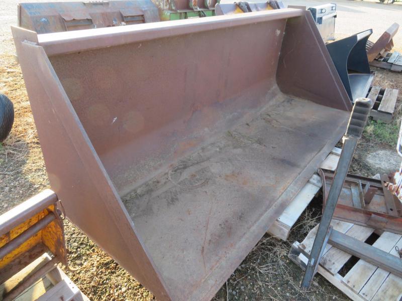 "Used 96"" Telehandler Loader Bucket"