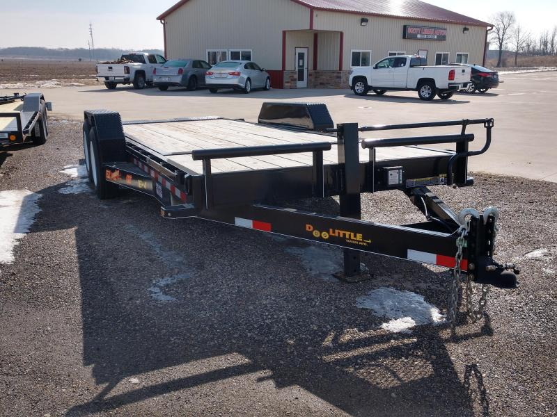 2019 Doolittle Trailer 20 ft EZ Loader GT 16K Flatbed Trailer