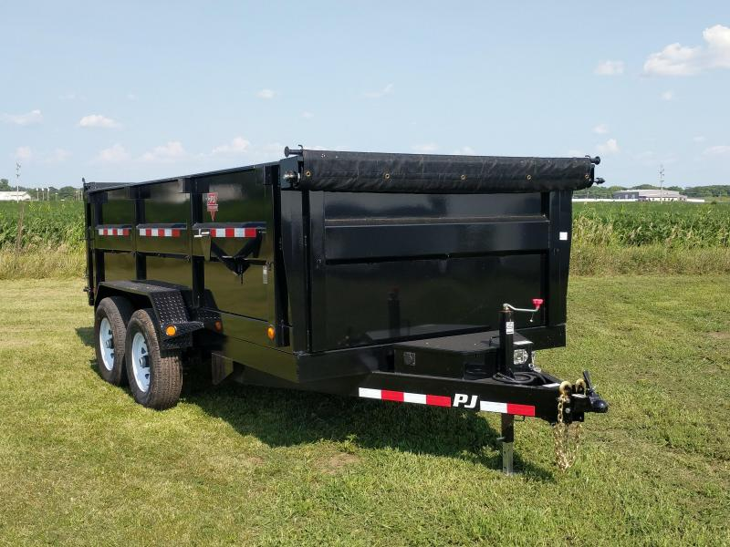 "2019 PJ Trailers DH 83"" HIGHSIDE DUMP Dump Trailer"