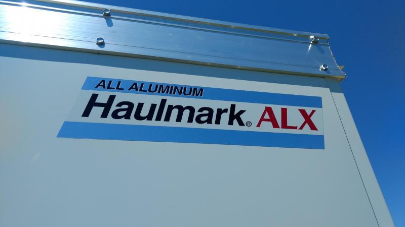 2018 Haulmark ALX Aluminum Utility Trailer 7X16