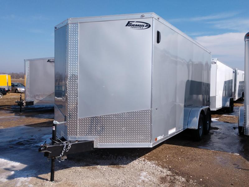 2019 Formula Trailers 7x16 Triumph Slope Nose Enclosed Cargo Trailer in Ashburn, VA