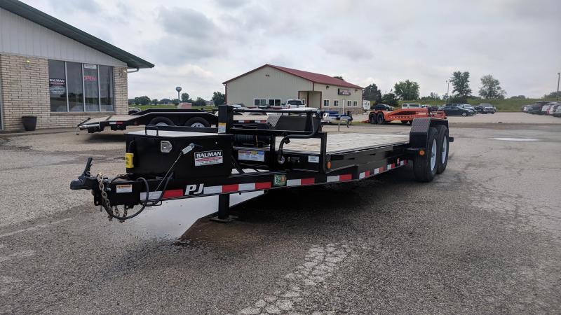 Used 2019 PJ Powered Full Tilt (TF) Equipment Trailer