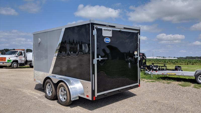 2020 United Trailers XLMTV 712TA35-8.5 Motorcycle Trailer