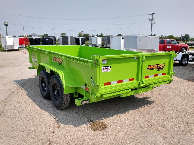 2019 Doolittle Trailer Mfg Masterdump 8200 Series 82 x 14 Tandem Axle 14K Dump Trailer