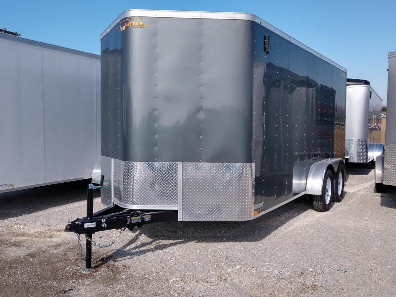 2019 Doolittle Trailer 7x16 Cargo V-Nose Enclosed Cargo Trailer