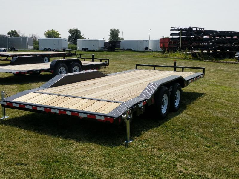 2019 PJ Trailers B5 Buggy Hauler 20ft Flatbed Trailer
