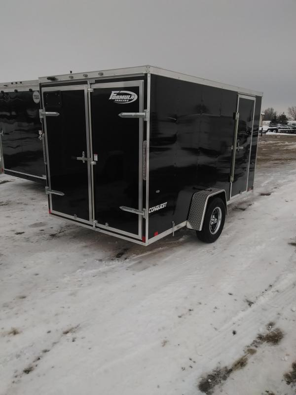 2019 Formula Trailers 6x12 Conquest Enclosed Cargo Trailer