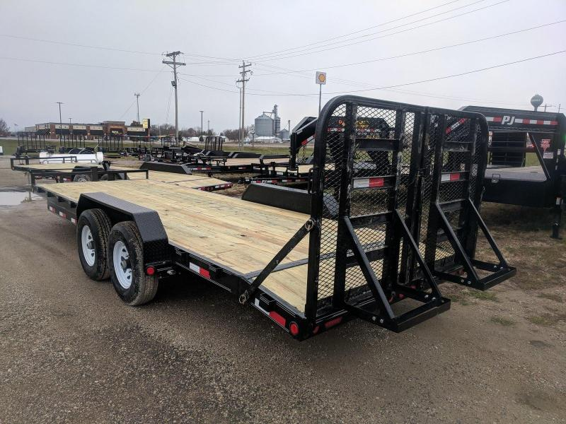 2019 PJ Trailers 6 in. Channel Equipment (CC) Flatbed Trailer in Avalon, WI