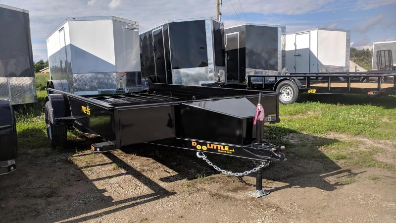 2019 Doolittle 77x12 Solid Sides Utility Trailer
