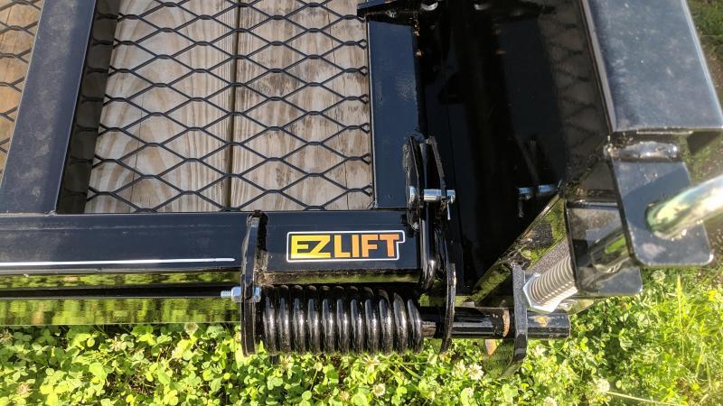 2019 Doolittle 77x12 Solid Sides Utility Trailer