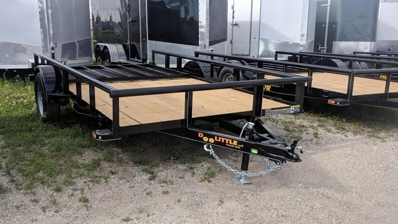 2019 Doolittle 77x12 Utility Single Axle