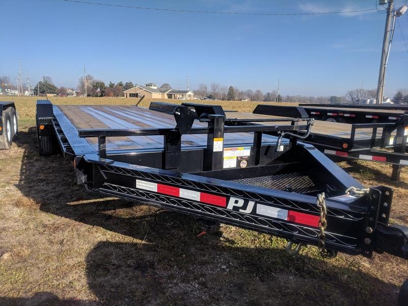 2019 PJ Trailers H4 8 Pro Beam Equipment trailer Flatbed Trailer