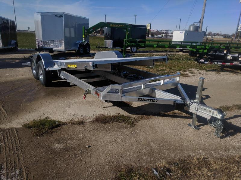 2019 Aluma 8220H Tilt Car / Racing Trailer
