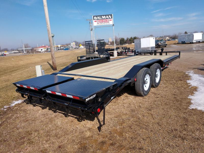 2019 PJ Trailers 6 in. Channel Super-Wide (B6) Flatbed Trailer