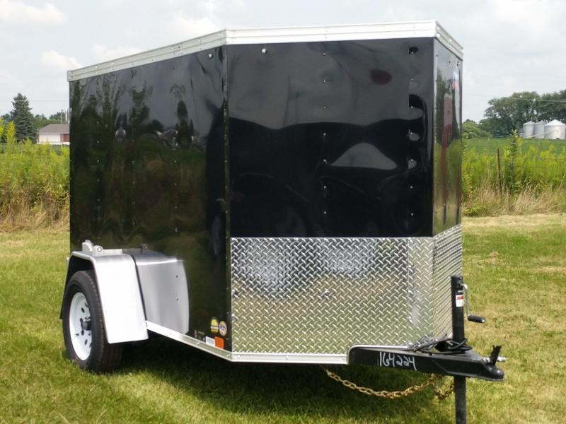 2018 United Trailers XLV 5 x 8 ft. Enclosed Cargo Trailer