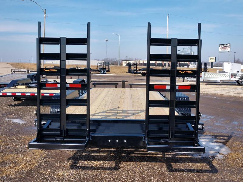 "2019 Doolittle Trailer Xtreme 82"" x 20 ft Flatbed Trailer"