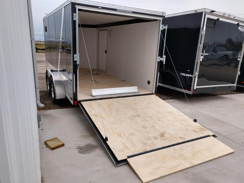 2019 United Trailers XLMTV 714TA35-8.5 Motorcycle Trailer