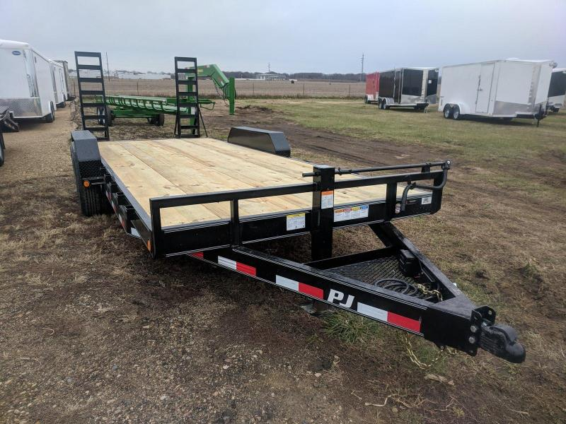 2019 PJ Trailers 6 in. Channel Equipment (CC) Flatbed Trailer