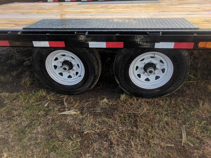 2019 PJ Trailers F8 20FT DECKOVER 14K Flatbed Trailer