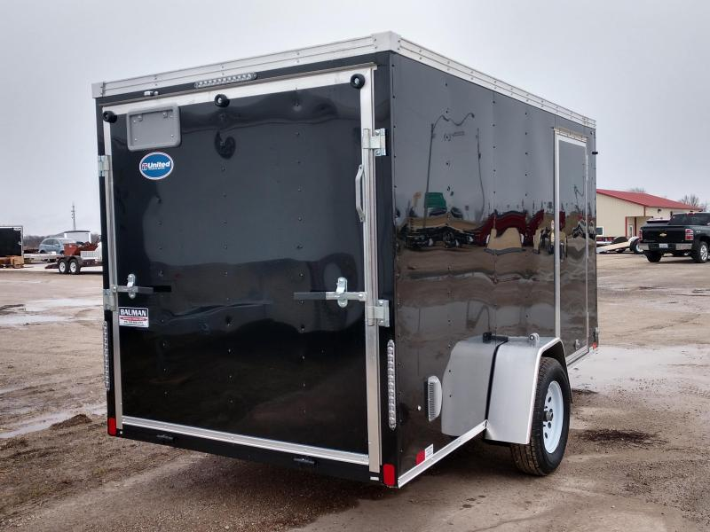 2019 United Trailers XLV 6 x 12 ft. Enclosed Cargo Trailer
