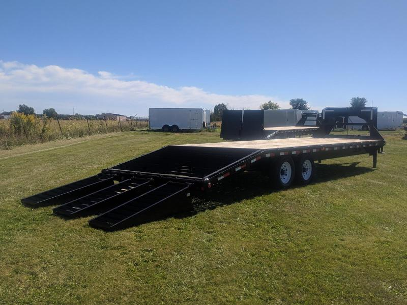 2019 PJ Trailers Classic Flatdeck with Singles (FS) 28FT