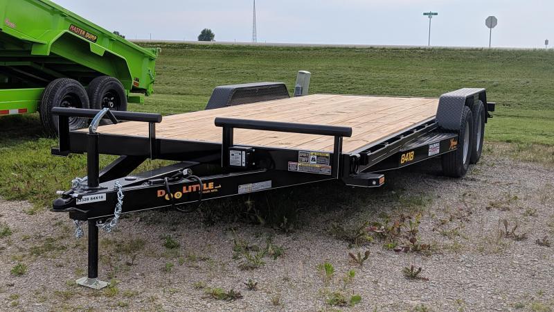 2019 Doolittle 84X18 CarTrailer