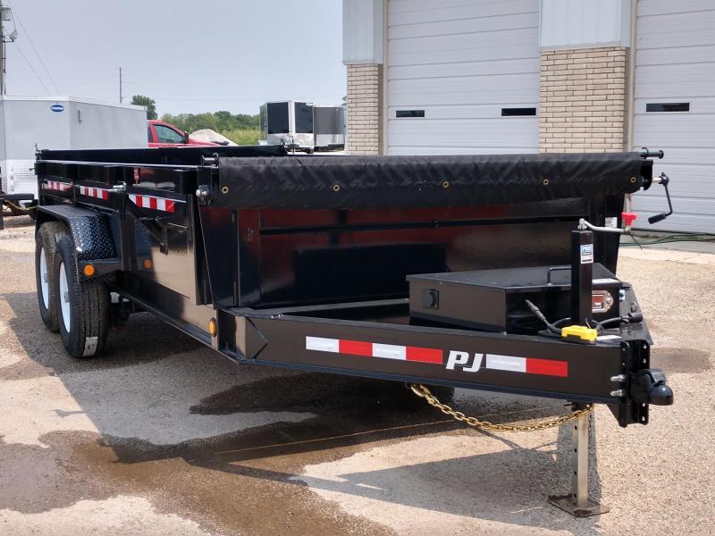 2019 PJ Trailers 83X16 Low Pro Dump (DL) Dump Trailer