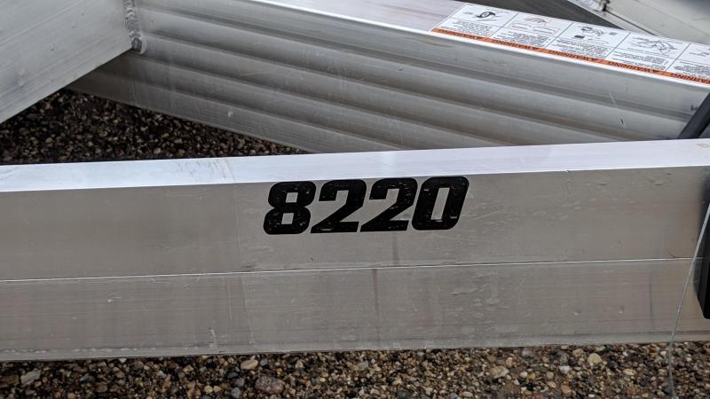 2020 Aluma 8220 Utility Trailer