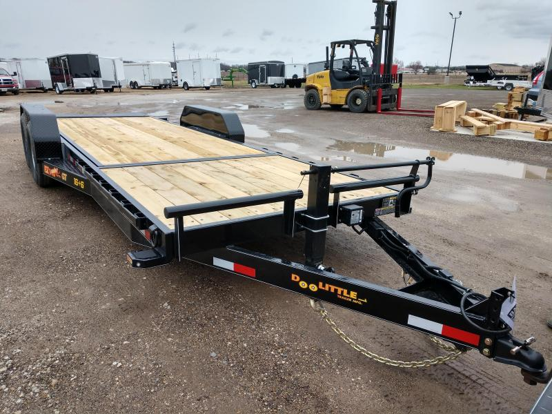 2019 Doolittle Trailer Mfg 22FT  EZ Loader GT 14K Equipment Trailer