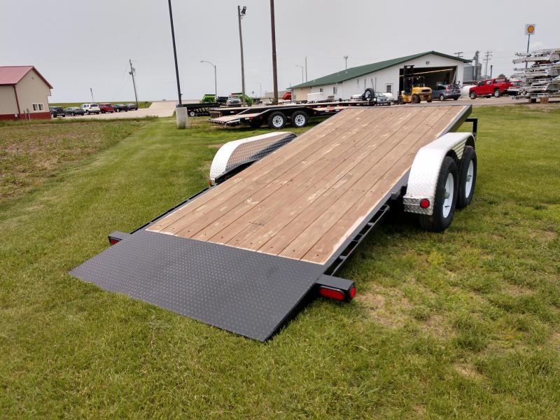 2019 PJ Trailers 5 in. Channel Tilt Carhauler (T5) Car / Racing Trailer