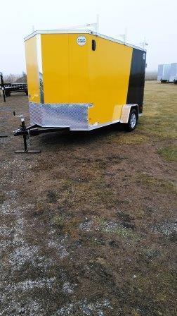 2018 Wells Cargo 6X12 Contractor